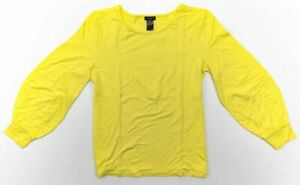 ANN-TAYLOR-Long-Sleeve-Knit-top-Gathered-Sleeve