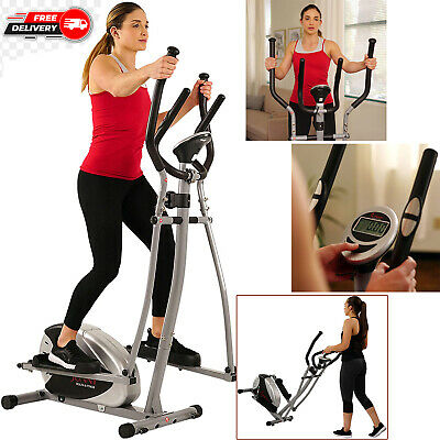 Magnetic Elliptical Machine Trainer Fitness Exercise Equipment Home Gym Workout