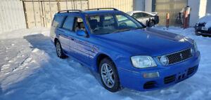 C34 Nissan Stagea in bayside blue! AWD Tutbo! JDM RHD
