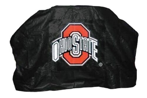"""OHIO STATE UNIVERSITY 59/"""" Barbecue BBQ Heavy Duty Vinyl Gas Grill Cover"""