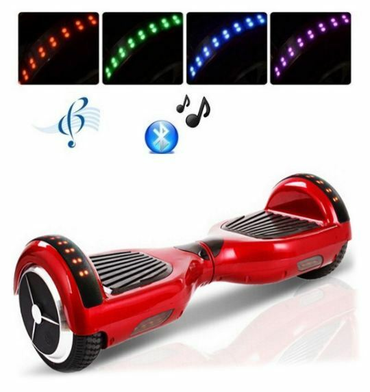Hover 6.5  Electric Scooter 2 wtalons – rouge
