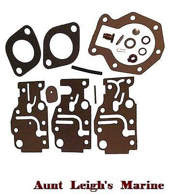USA Carburetor Kit /& FLOAT for Johnson Evinrude 6 8 9.9 15 20 Hp 18-7219 431897