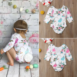 2648b90ac506 US Newborn Infant Baby Girls Bubble Tail Romper Outfit Playsuit ...
