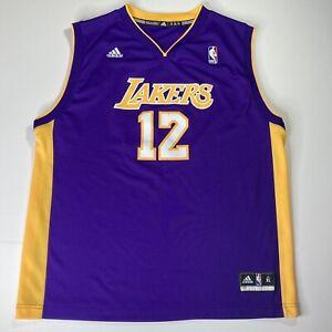 Adidas Los Angeles Lakers Dwight Howard NBA Basketball Jersey ...