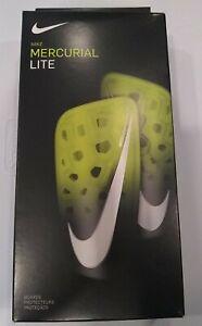 Nike-Mercurial-Lite-Football-Protege-tibias-Volt-SP2120-702-TAILLE-M-livraison-gratuite