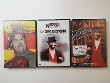 3 NEW DVD-lot-Red Skelton-TV Classics Vol. 1-America's Clown Prince-Funnyman