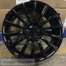 22 New Amg Style Black Wheels Rims Fits Mercedes Benz S300 S320 S430 S500 S550