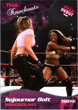 TNA Sojournor Bolt #15 2009 Knockouts SILVER Parallel Card SN 32 of 40