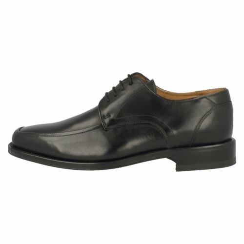 Details about  /Loake /'Sussex/' Mens Black Leather Lace Up Shoes