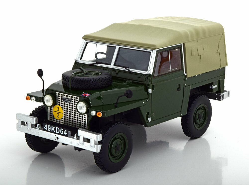 1968 Land Rover Lightweight Series IIA Soft Top Dark verde by BoS Models 1 18