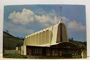 California-CA-San-Diego-Mission-Valley-First-Methodist-Church-Postcard-Old-View