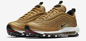 Nike-Air-Max-97-OG-QS-METALLIC-GOLD-EUR40-US8-5-UK6-WMNS-885691-700-Gold-Bullet