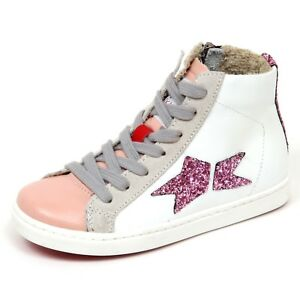 on sale 3cdf2 0e4fb Details about E6518 sneaker bimba pink/wihite SEQUEL by ISHIKAWA scarpe  shoe kid girl