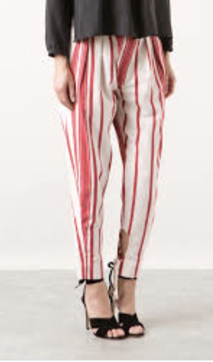 Isabel Marant Rodrys Striped Harem Trousers. BNWT. Size FR38 UK10. Sold Out