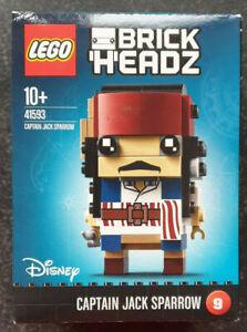 Lego® Brickheadz Nr. 9 Disney Captain Jack Sparrow 41593 Neu & OVP LESEN!
