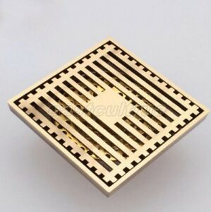 Square Shower Drain Cover.Details About Antique Brass Square Shower Drain Floor Waste Drain Cover Strainer Ehr026