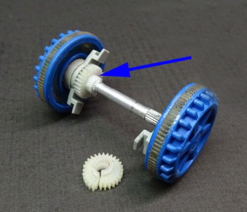 Zahnrad für Achse in Lego Duplo Lok Ersatz Modul 0,4 27 Zähne