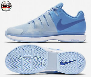 1a68db03b35e Nike Zoom Vapor 9.5 Tour 631475 401 Ice Blue Women s Tennis Shoes Sz ...