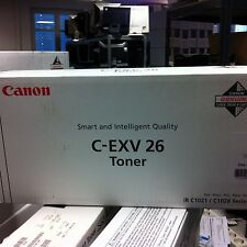 Original Canon Toner C-EXV26 Cyan 1659B006 für iR C1021i 1028i 1028iF neu C