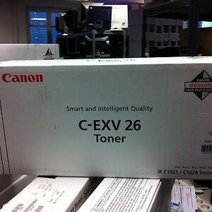 ORIGINALE-CANON-TONER-C-EXV26-ciano-1659B006-PER-IR-C1021I-1028i-1028if-NUOVO-C