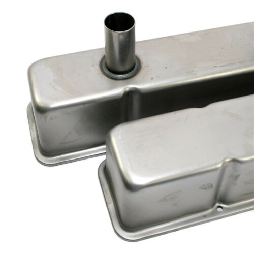 Tall Circle Track Valve Covers Steel IMCA SBC Small Block Chevy 350 383 400