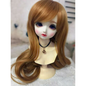 PF Hand Made Wig High Quality For BJD Doll Dollfie 1//6 1//4 1//3 YOSD DZ Outfit
