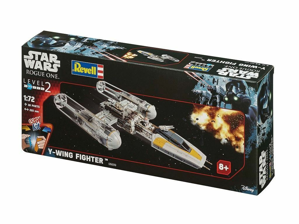 Revell EasyKit Star Wars Rogue One - Y-Wing Fighter Model Kit - 06699