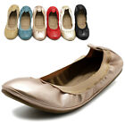 Ollio Women's Shoes Comforts Ballet Flats