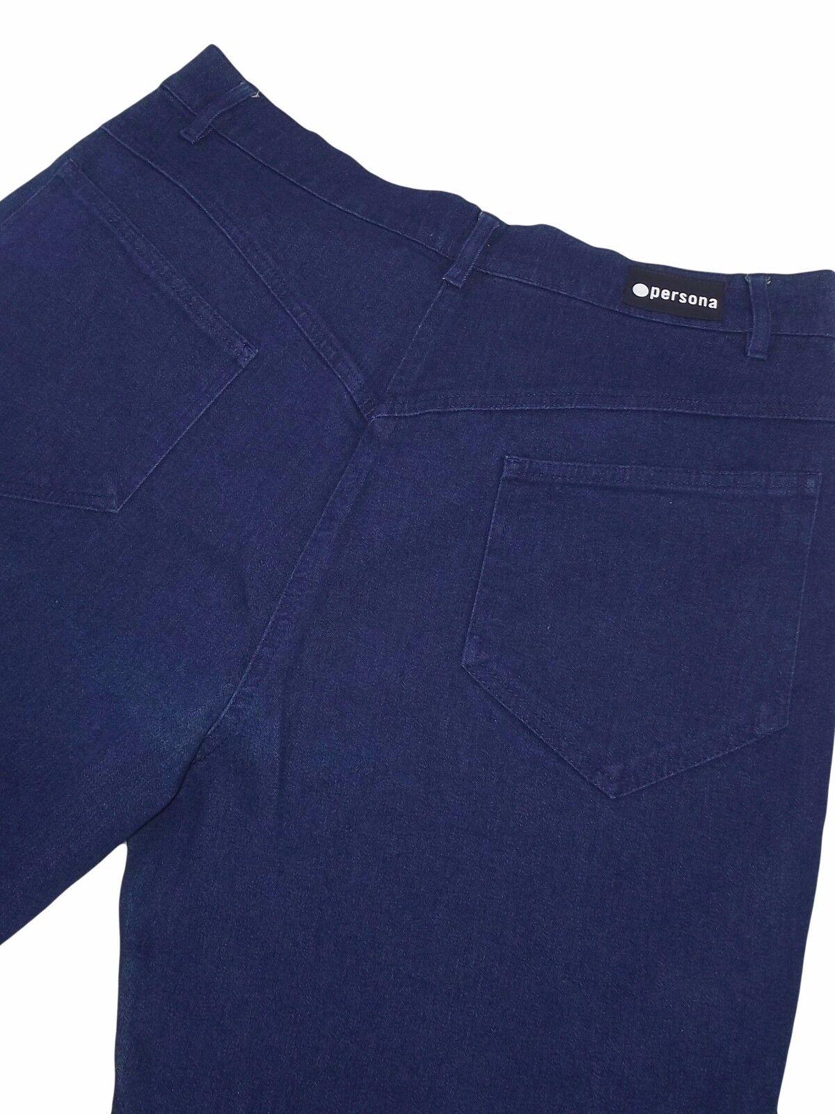 Jeans donna blu PERSONA marina rinaldi tg 21 it it it 51 uk 19 de 45 w 37 adf12f