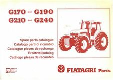 Fiatagri New Holland Tractor G170 G190 G210 G240 Parts Manual