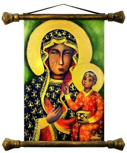 Religion-Mary-Orthodox-Handmade-Oil-Painting-Picture-Oil-Frame-Pictures-G01527