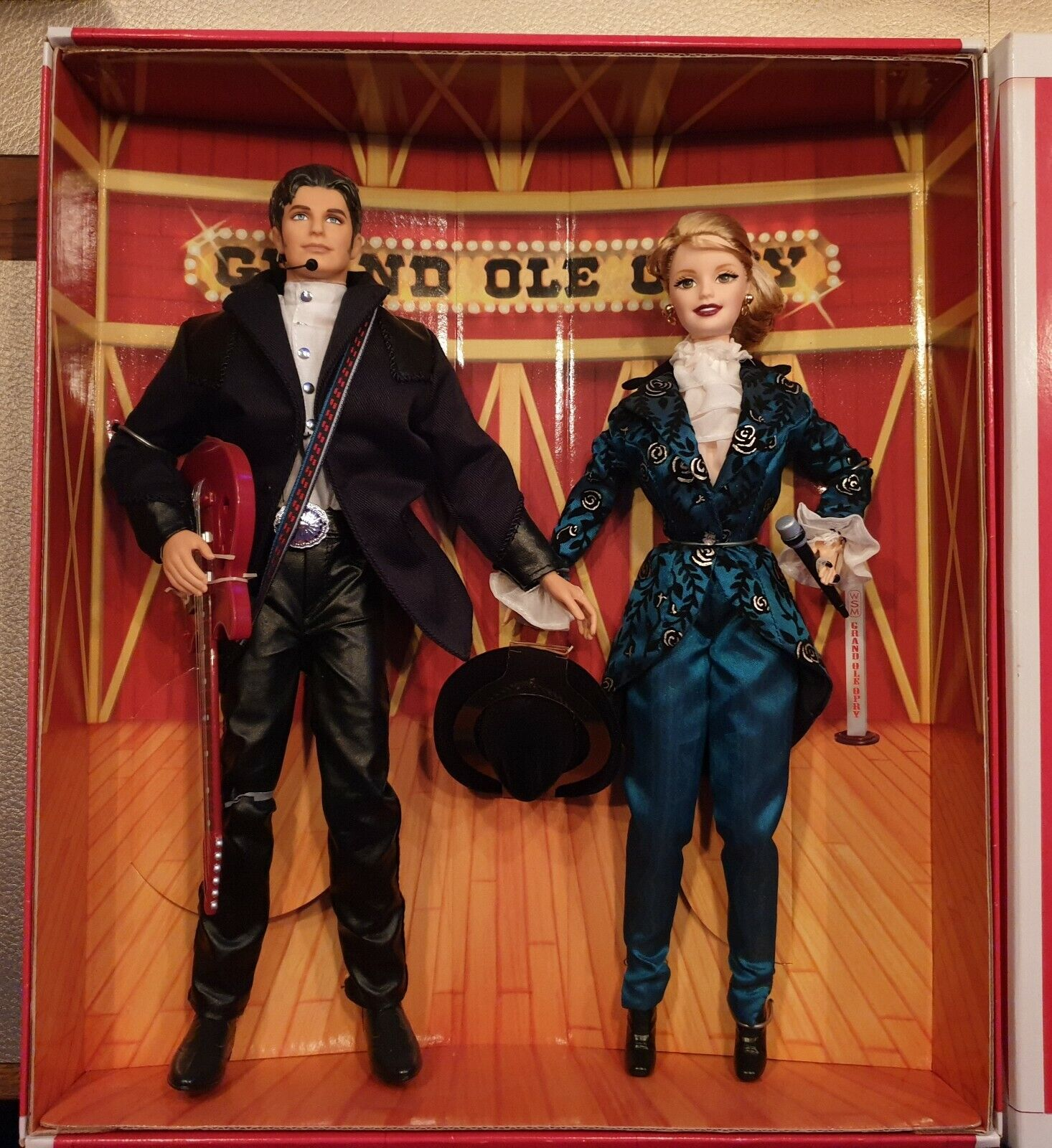 Barbie & Kenny Collector Edition Grand Ole Opry Set 1998 NRFB