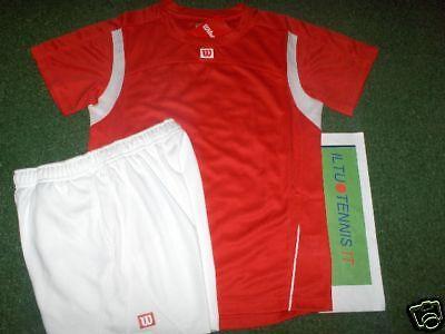 Appena Completo Tennis Wilson Mod. Club - Jr Forte Imballaggio