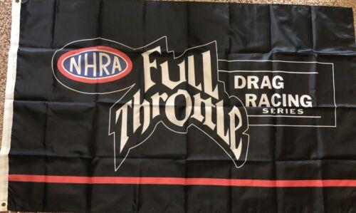 NHRA FULL THROTTLE Flag 3/'x5/' Feet DRAG RACING Banner