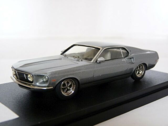 Zaugg Empire 1/43 1969 Ford Mustang 289 Handmade White Metal / Resin Model Car