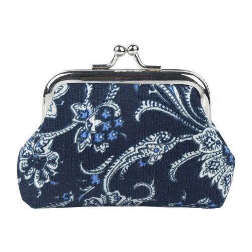 Blaue und weiße Porzellan Haspe Geldbörsen Damen Clutch Bag Mini Wallet