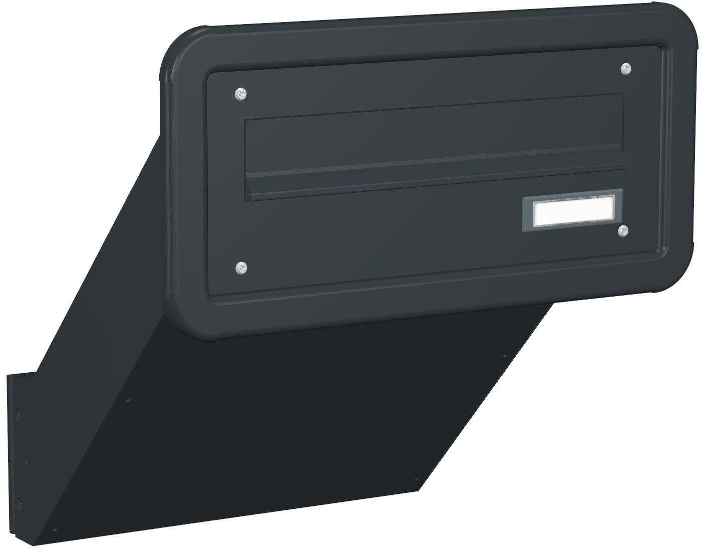 Mauerdurchwurf Briefkastenanlage variable Tiefe TE130 Farbauswahl MDH115