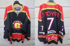 VINTAGE Maillot hockey ice ALLEMAGNE GERMANY shirt trikot DEUTSCHLAND jersey XL