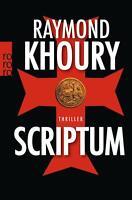 """Buch - Raymond Khoury """"Scriptum"""""""