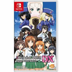 Girls-und-Panzer-Dream-Tank-Match-DX-ENGLISH-SUBTITLES-Nintendo-Switch-NEW