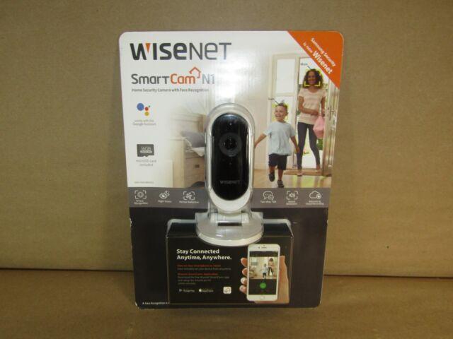 Wisenet Smartcam N1 Wi-Fi Security Camera