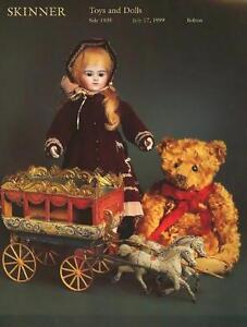 Skinner Sale 1935 Toys Dolls Post Auction Catalog July 1999 Ebay