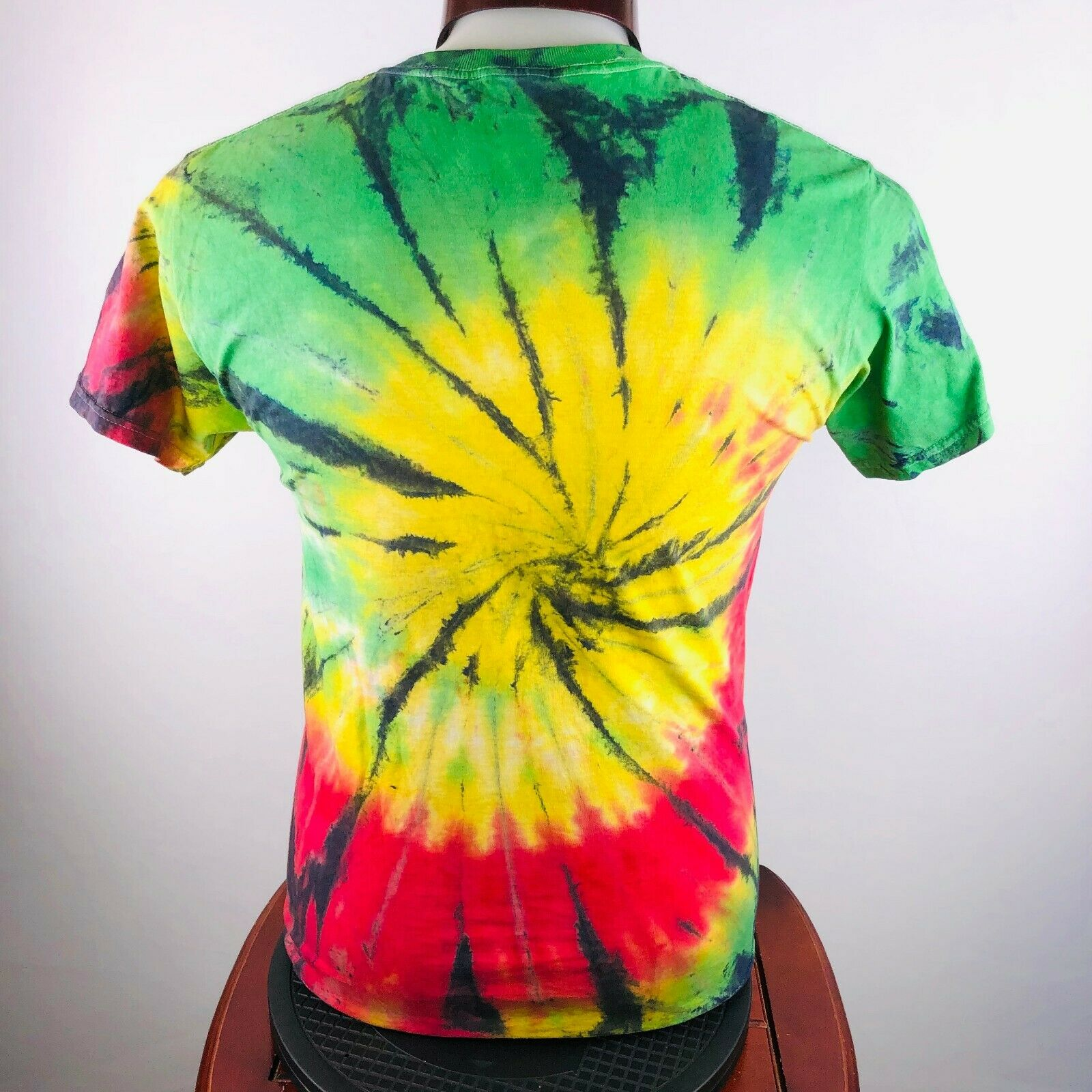 Peace Sign Tye-Dye Mens M Graphic T Shirt