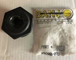 Banjo-Part-RB200-075-2-034-MNPT-x-3-4-034-FNPT-Schedule-80-Reducing-Bushing