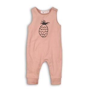 Summer. New Baby Girls Pineapple Design Print Sleeveless Romper Gift