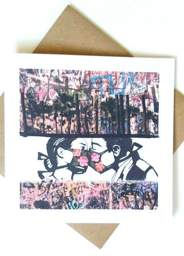Graffiti Corona Notelets sentiment NHS amour Carte d/'anniversaire Lockdown personnalisé