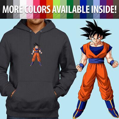 Kid Goku Anime Power Pole Staff Pullover Sweatshirt Hoodie Sweater