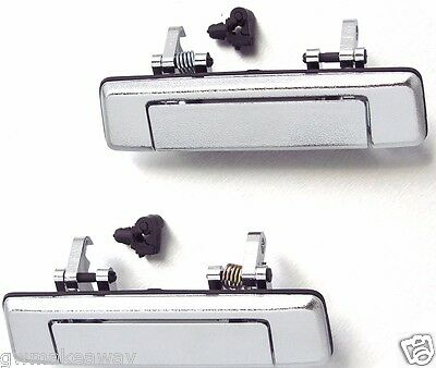 Chrome Door Handle Outside For Mazda Magnum B Series B2000 B2200 B2600 Pickup