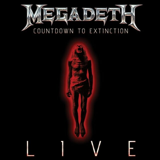 Megadeth Countdown To Extinction Live CD NEW 2013 Metal