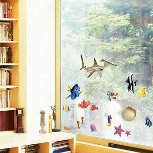 About Finding Nemo Wall Stickers Kids Rooms Decor Cartoon Large